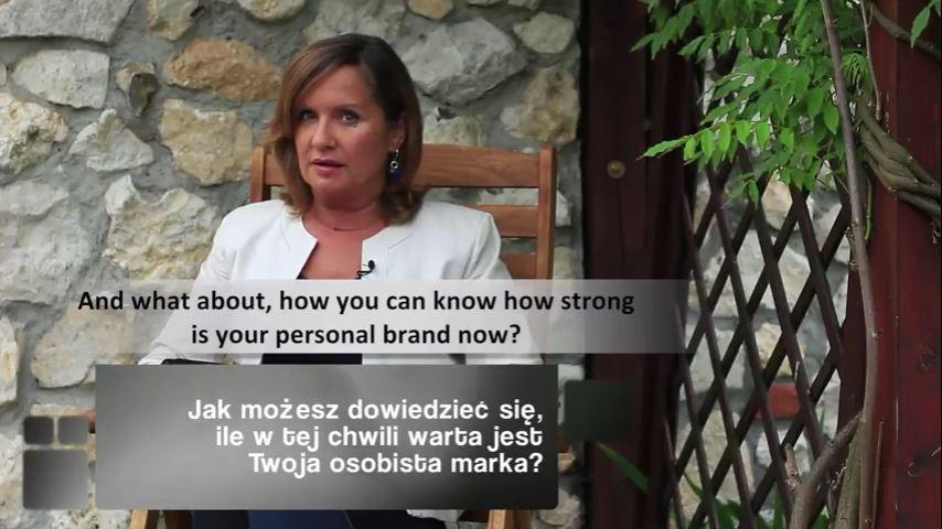 TV Kobiety Priorytety: Jak możesz dowiedzieć się, ile jest warta Twoja osobista marka?