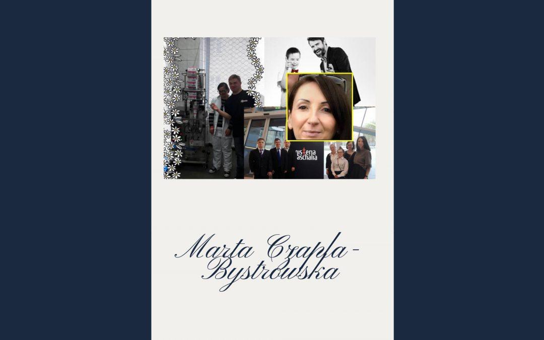 Marzenia iwiara wich spełnienie, branie życia wswoje ręce, cierpliwość ikonsekwencja! – Marta Czapla- Bystrowska, dyrektor sprzedaży imarketingu wfirmie A-PACZKI wkolejnym odcinku cyklu Kobieta Inspirująca.