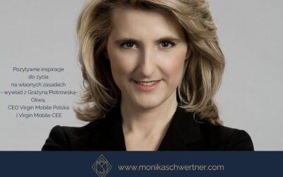 Wywiad zGrażyną Piotrowską-Oliwą, CEO Virgin Mobile Polska iVirgin Mobile CEE